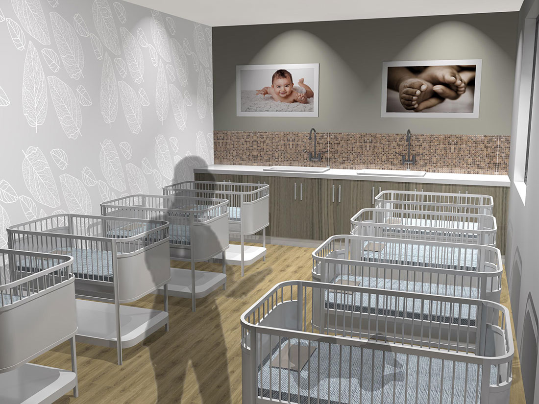 Life Hilton Private Hospital Maternity Ward Nursery